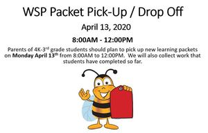 WSP Packet Pick-Up / Drop Off