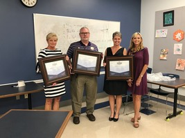 Principals Recognized at Local Board Meeting
