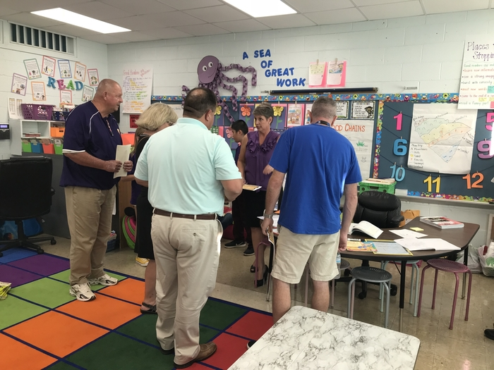 School Board Visits WSP